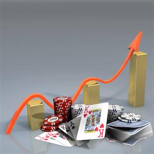 Europas Glücksspiel steigt weiter an