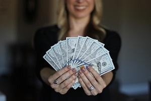 Glückliche Lottogewinner
